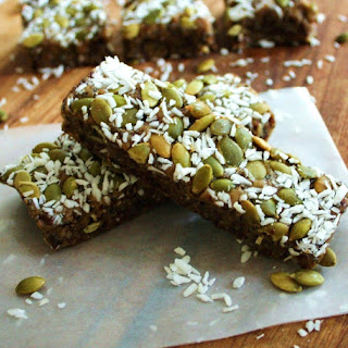 Raw Vegan Energy Bars with Walnut, Chia, Cherry & Pepita for Ida