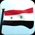 Syria Flag 3D Live Wallpaper icon