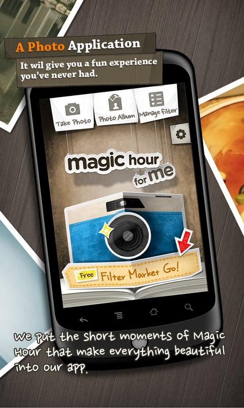 Magic Hour - Photo Editor - screenshot