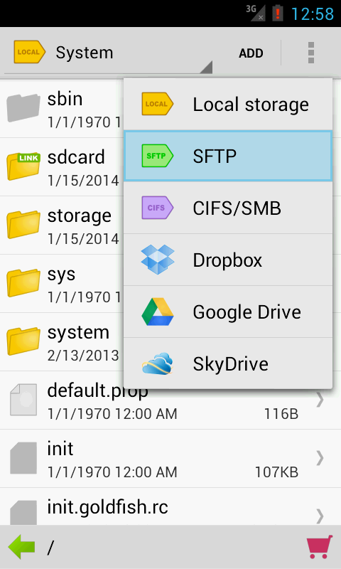 Folder Tag - Filer & Organizer - screenshot