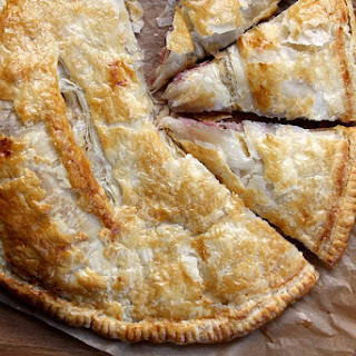 Ham and Cheese Puff Pastry Pie.
