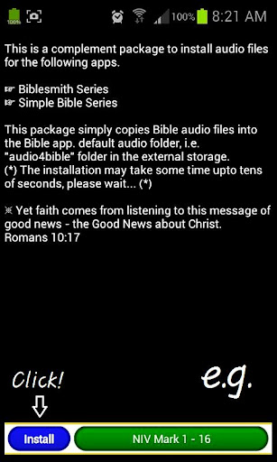 Audio4Bible - Mark NIV