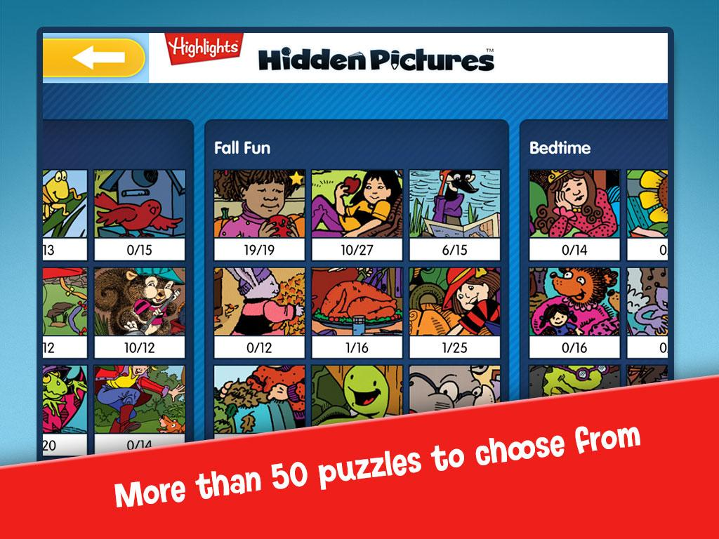 Highlights Hidden Pictures™ - screenshot