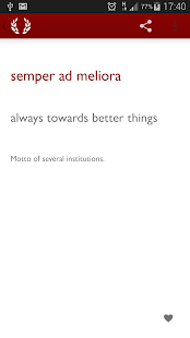 Latin Phrases: Huge Collection- screenshot thumbnail
