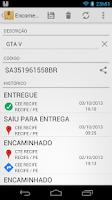 Screenshot of Correios: Rastrear Encomendas