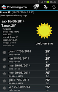 Allarme Meteo IT- miniatura screenshot