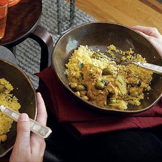 Chicken, Lemon & Olive Stew