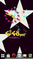 Screenshot of Star Flow! Live Wallpaper
