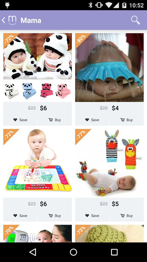Jul 20,  · Get trending maternity, newborn, infant, toddler, and kids products at % OFF retail. Mama is the number one app in Europe and North America to get the best deals on thoughtful items for your loved ones. We go directly to the manufacturers to /5(K).