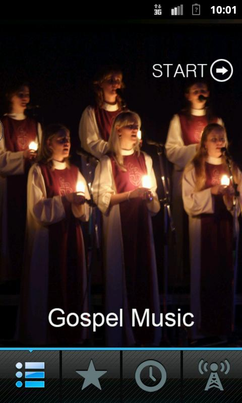 Gospel Music - screenshot