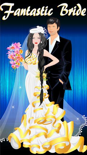 梦幻般的新娘扮靓