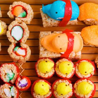 How to Make Peepshi = Peeps Sushi.