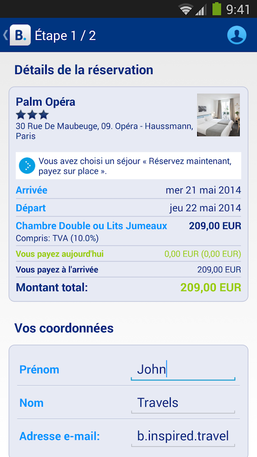 Booking.com - 430 000+  hôtels - screenshot
