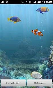 Aquarium Free Live Wallpaper - screenshot thumbnail