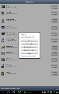SendItz - Send & Share Files - screenshot thumbnail
