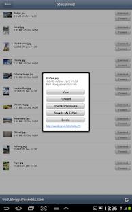 SendItz - Send & Share Files - screenshot thumbnail