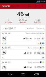 Runtastic Road Bike PRO Screenshot 2