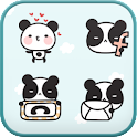 Panda Cafe icon theme icon