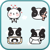 Panda Cafe icon theme