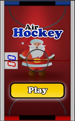 Santa Air Hockey