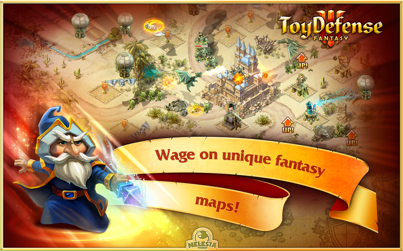 Toy Defense 3: Fantasy - screenshot