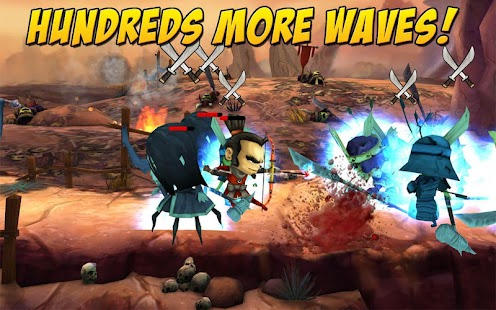 SAMURAI vs ZOMBIES DEFENSE 2 Screenshot 24