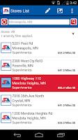 Screenshot of SuperAmerica Deals