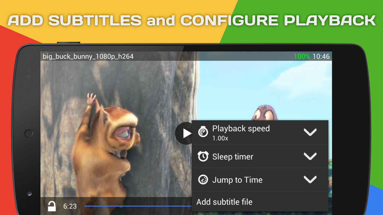 Zenith Media Player- screenshot