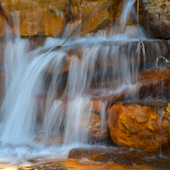 Rock Falls HD Live Wallpaper