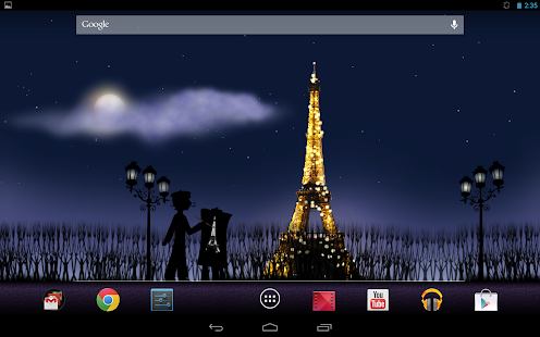 Mon Ami Paris Live Wallpaper - screenshot thumbnail