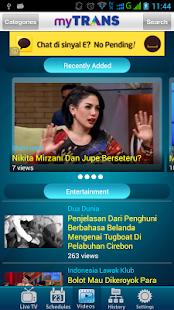 myTRANS- screenshot thumbnail