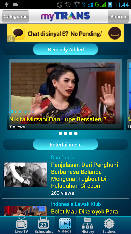 myTRANS- screenshot