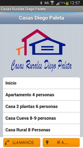 Casas Rurales Diego Paleta