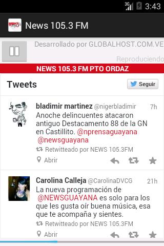 NEWS 105.3 FM