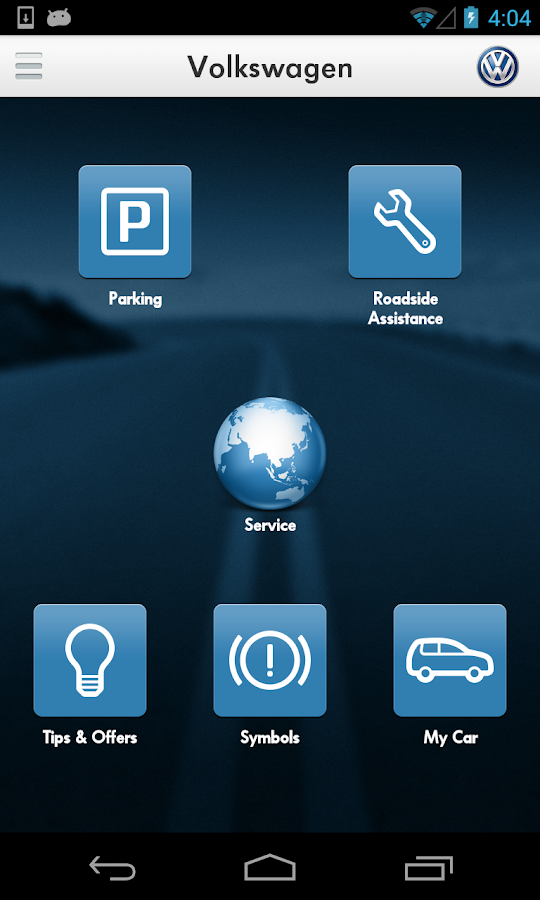 Volkswagen Service Hongkong - screenshot