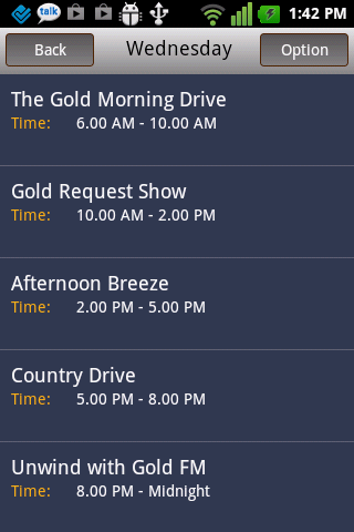Gold FM Mobile- screenshot