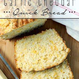 Garlic Cheddar Quick Bread