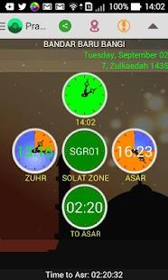 SOFTnet Waktu Solat - screenshot thumbnail