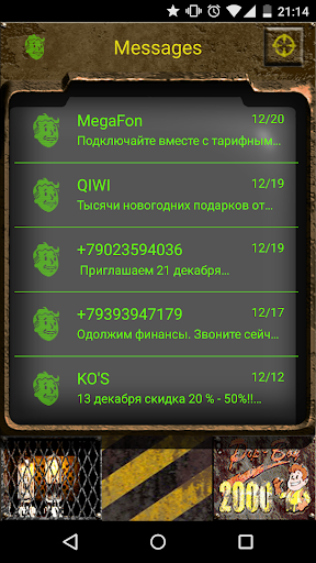 Go SMS Nuclear Fallout 2k