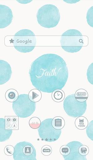 faith 도돌런처 테마