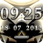 MARQUE Digital Clock Widget
