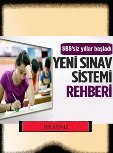 SBS'siz YENİ SINAV SİSTMİ REHB