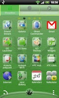 Screenshot of Go Launcher EX Ganja Theme