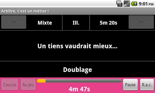Arbitre, c'est un métier ! - screenshot thumbnail