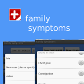 Monitor family symptoms