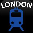 倫敦地鐵和鐵路地圖 2019 icon