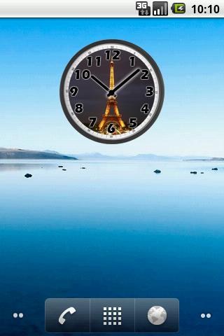 Tour Eiffel Night Clock