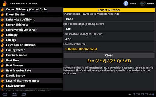 Thermodynamics Calc. Tablet- screenshot thumbnail
