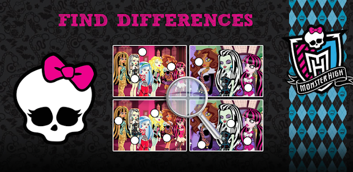 Find Differences: Monster High