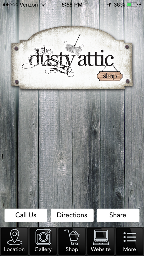 The Dusty Attic Shop- screenshot